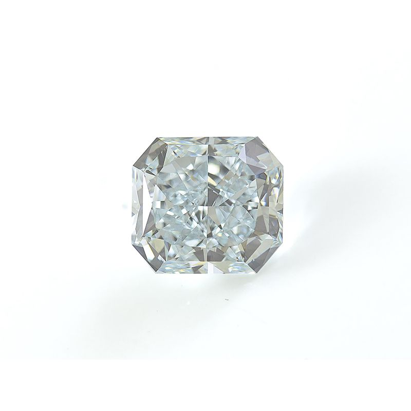 2.44 Carat, Fancy Greenish Blue Diamond, Radiant shape, IF Clarity, GIA Certified, 2125197747