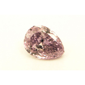 0.20 Carat, Fancy Intense Purple Diamond, Pear shape, SI2 Clarity, GIA Certified, 5121115055