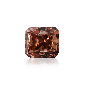 0.53 Carat, Fancy Deep Brown Diamond, Radiant shape, GIA Certified, 6177493230