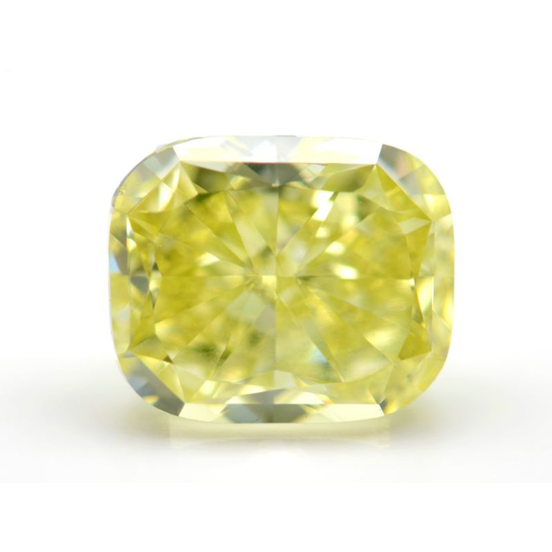 2.19 Carat, Fancy Intense Green Diamond, Cushion shape, VS2 Clarity, GIA Certified, 1102871518