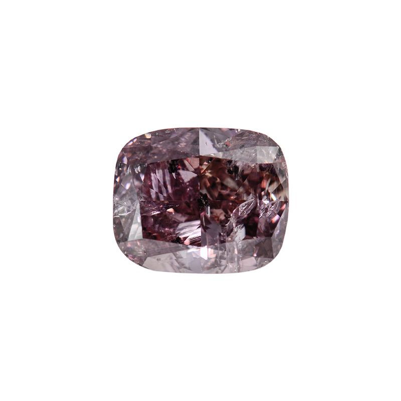2.04 Carat, Fancy Dark Brown Diamond, Cushion shape, I1 Clarity, GIA Certified, 2165261280