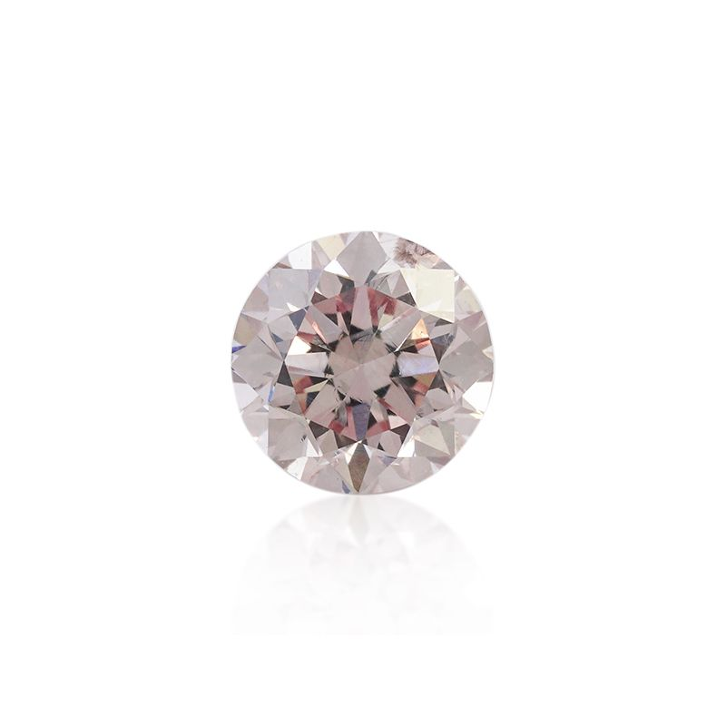 0.30 Carat, Fancy Light Pink Diamond, Round shape, SI2 Clarity, ARGYLE Certified, 2161007578