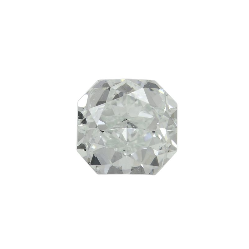 0.90 Carat, Fancy Light Bluish Green Diamond, Radiant shape, VS1 Clarity, GIA Certified, 2166599473