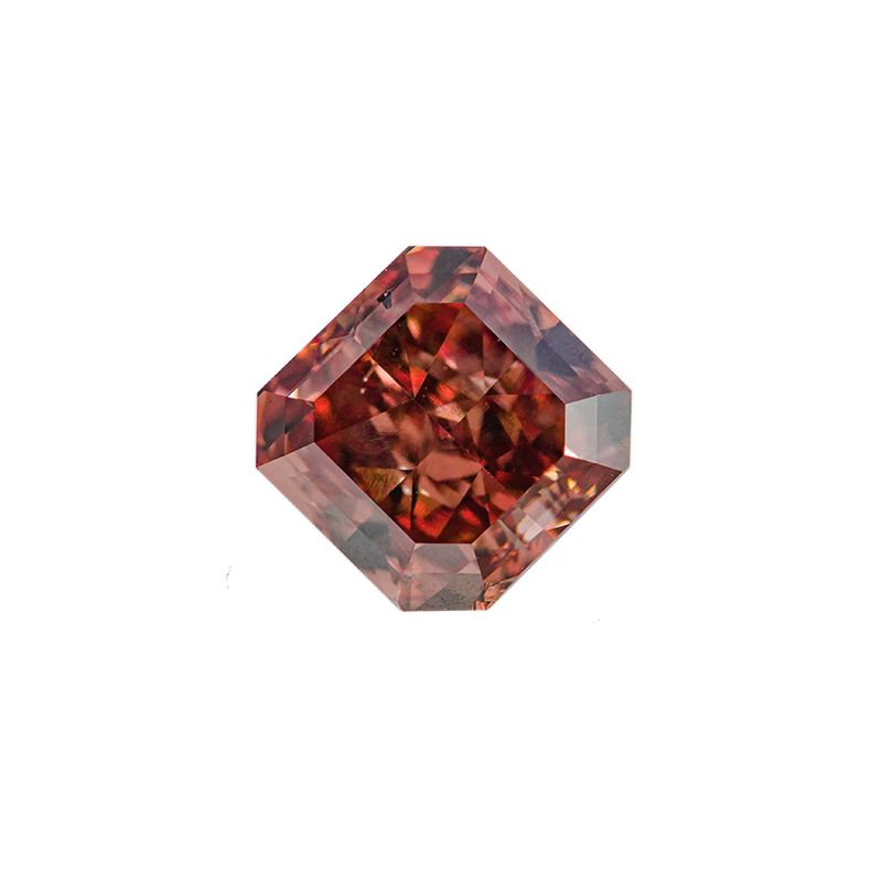 2.20 Carat, Fancy Deep Pink Diamond, Radiant shape, SI1 Clarity, GIA Certified, 1162619023