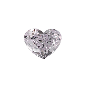 0.98 Carat, Light Pink Diamond, Heart shape, VS2 Clarity, GIA Certified, 1176368185