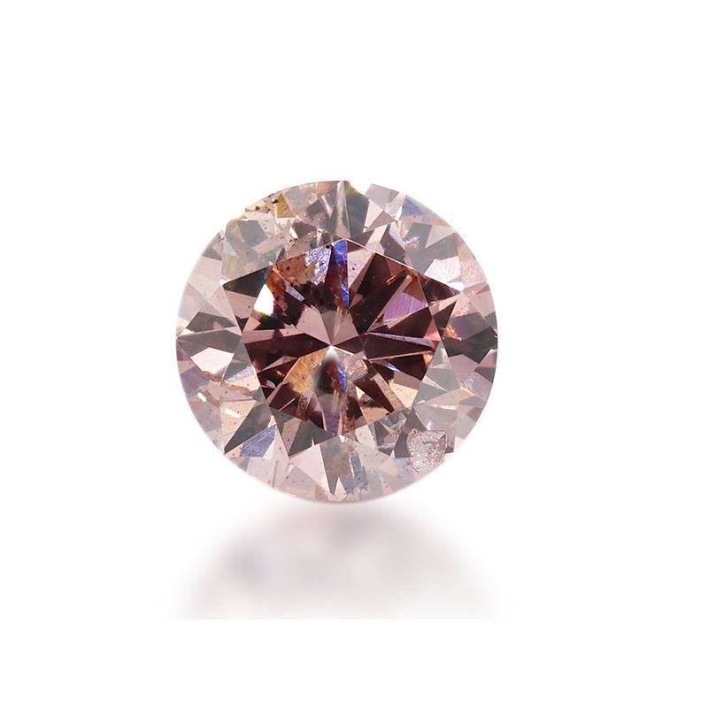 0.19 Carat, Fancy Intense Pink Diamond, Round shape, I1 Clarity, ARGYLE Certified, 2175755416