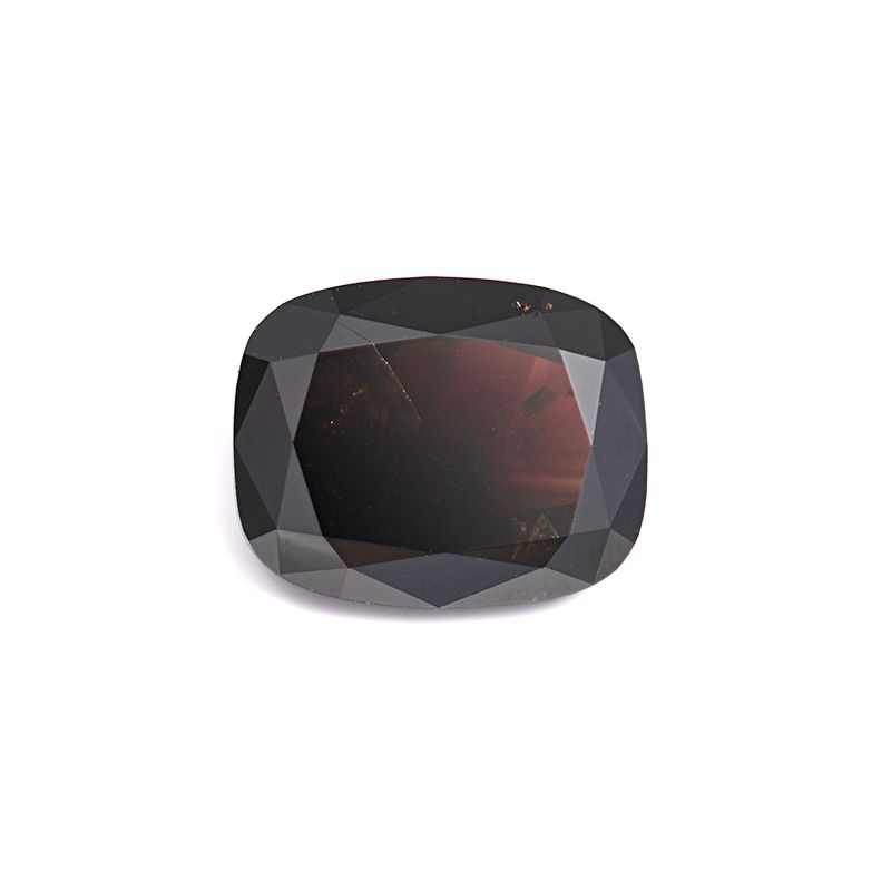 3.83 Carat, Fancy Dark Reddish Brown Diamond, Cushion shape, I1 Clarity, IGI Certified, F4E73115