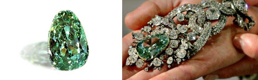 green Drezden Diamond - loose fancy green diamonds