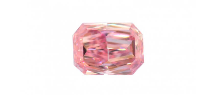 Fancy intense pink diamond
