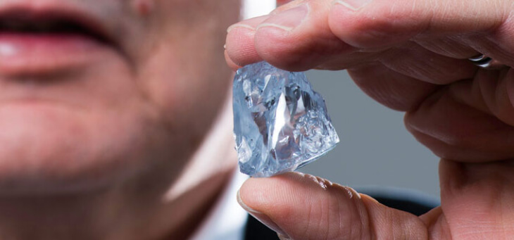 Natural blue diamonds prices & investment opportunities