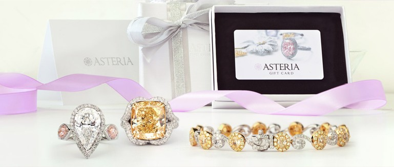 Asteria Diamonds Shop colored diamonds gifts for any occasion