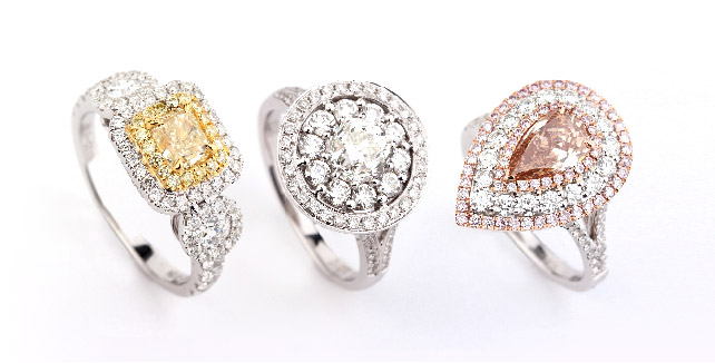 Colored Diamond Jewelry | Asteria Diamonds