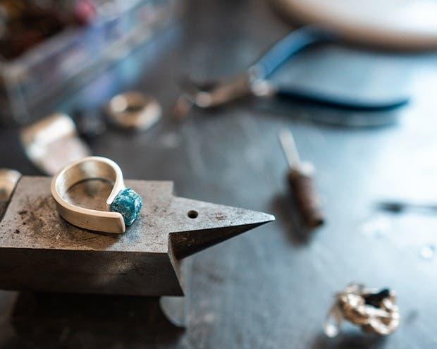 Image of custom fancy diamond jewely by | Astteria